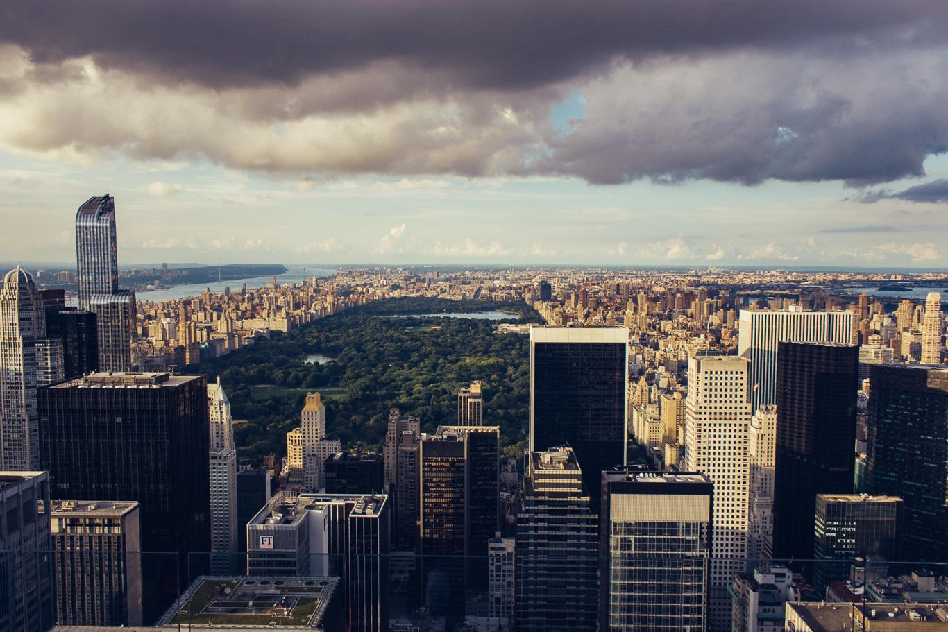 widok nowego yorku