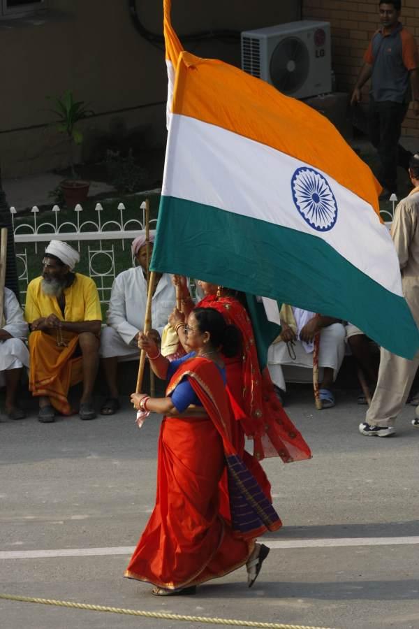 indie pakistan, Attari – granica Indie-Pakistan