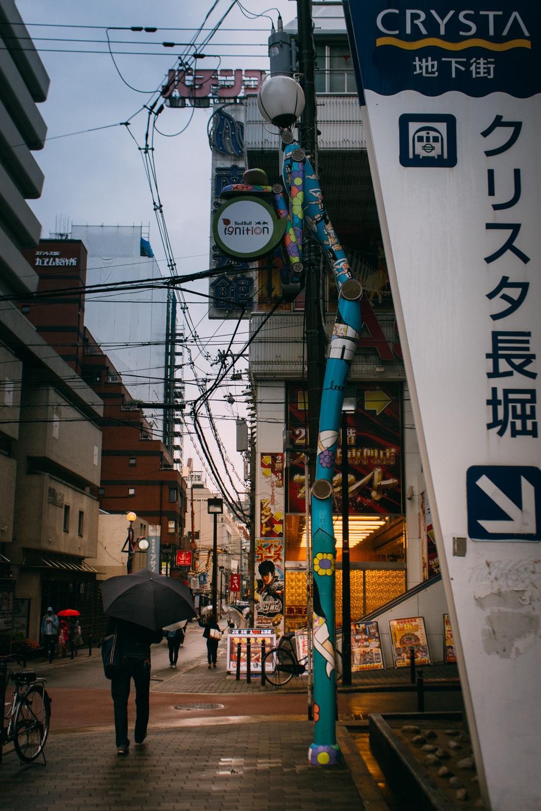 Japonia na własną rękę, Japonia