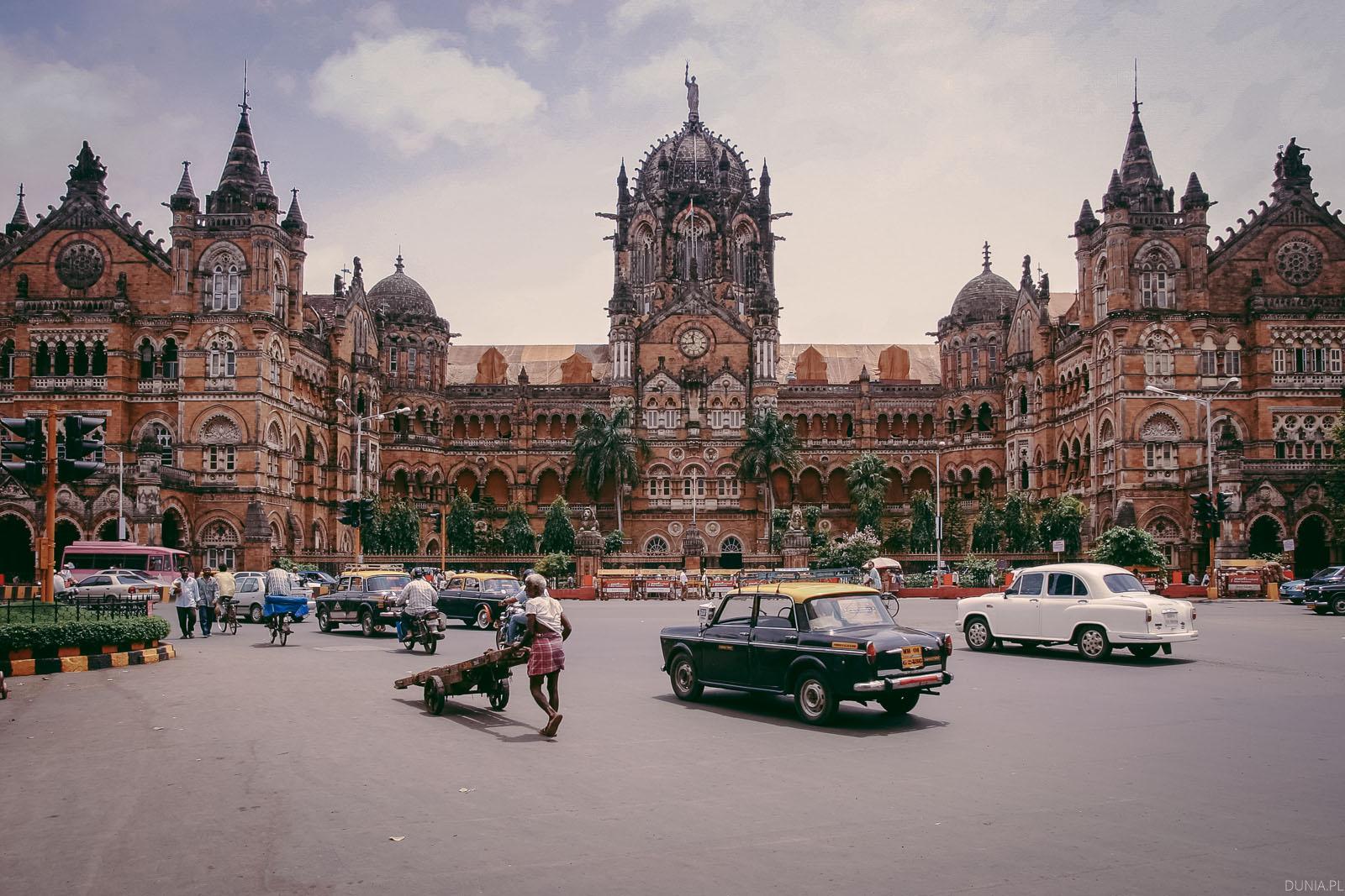 dworzec kolejowy Bombaj
