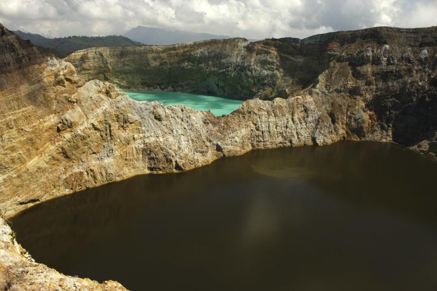 kelimutu jeziora